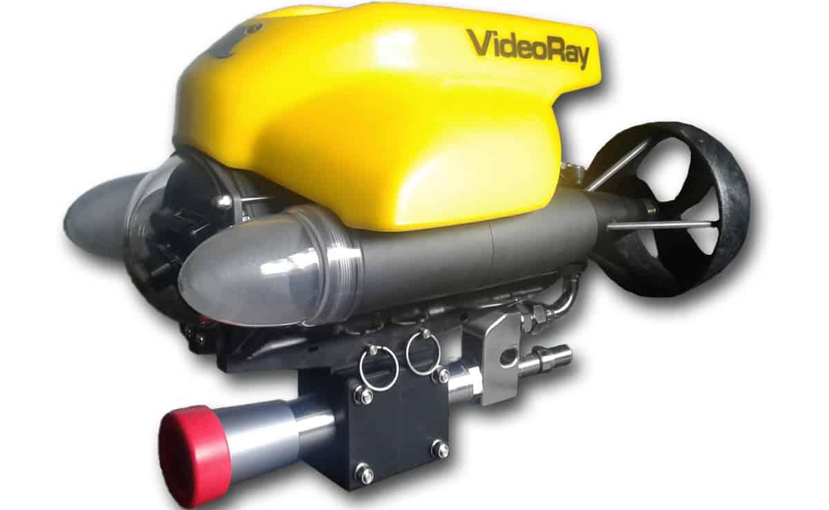 Semi PRO kit with CW202ROV cavitation ROV gun and Diesel High Pressure Unit (30 LPM at 280 bar)